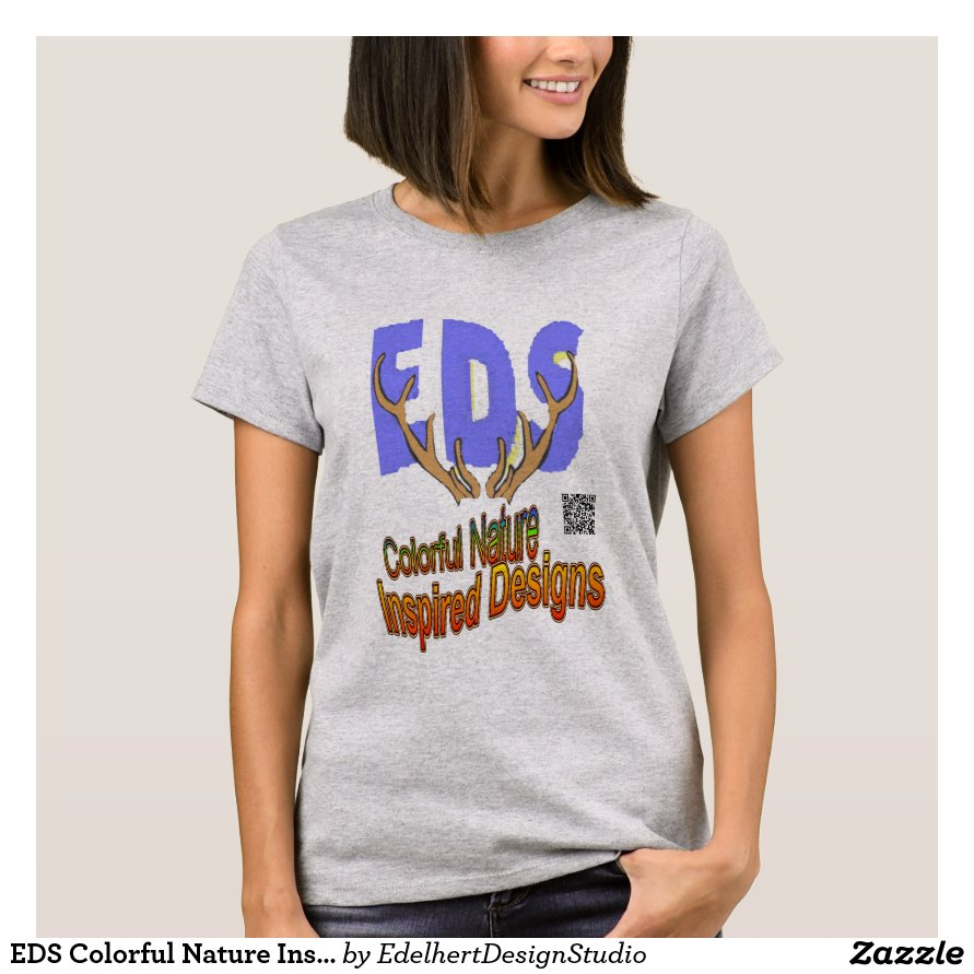 EDS Colorful Nature Inspired Designs T-Shirt
