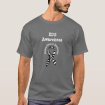 EDS Ehlers-Danlos Syndrome Awareness Shirt Ribbon