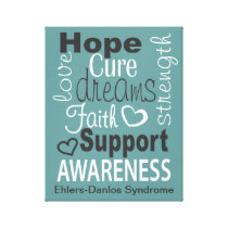 EDS Encouragement Wrapped Canvas Print