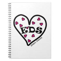 EDS Heart Spiral Notebook