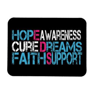 EDS Hope Cure Awareness Flexible Magnet