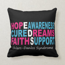 EDS Hope Cure Awareness Pillows