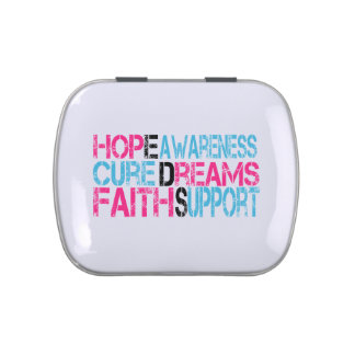 EDS Hope Cure Awareness Positive Words Candy Tin