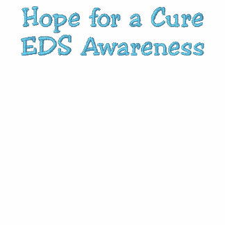 EDS Hope for a Cure Awareness Embroidered Hoodie