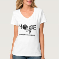 EDS Hope Zebra Peace Symbol Awareness Ribbon Shirt