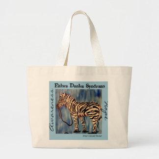 EDS HOPE Zebra Tote Canvas Bags