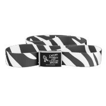 EDS I Wear Stripes For Someone Awareness Belt