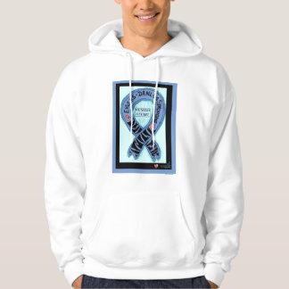 EDS-Ribbon-Need Cure Hooded Sweatshirt