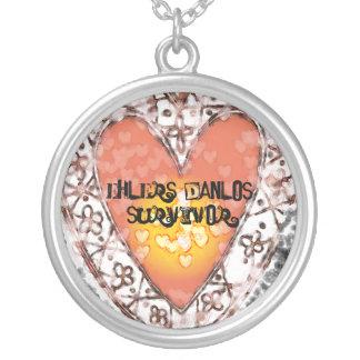 EDS Survivor Round Pendant Necklace