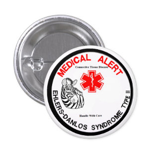 EDS Type 2 with Zebra Medical Alert Button