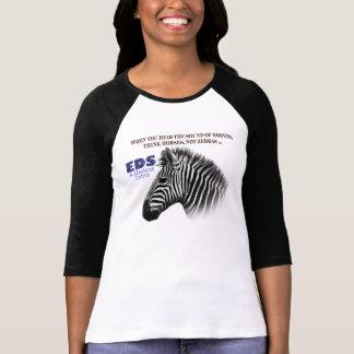 EDS - Una camiseta médica rara 1A de la cebra Polera