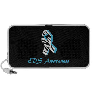 EDS Zebra Awareness Ribbon Doodle Speakers