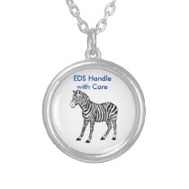 EDS Zebra necklace