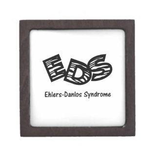 EDS Zebra Stripe Keepsake Box Premium Gift Boxes