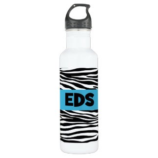 EDS Zebra Stripe 24oz Water Bottle