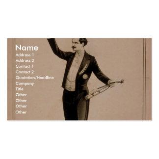 Eduard Strauss, 'Chickering Piano used' Retro Thea Business Cards