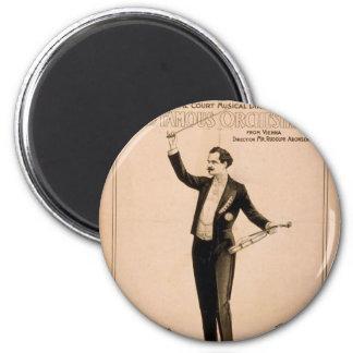 "Eduard Strauss, ""piano de Chickering utilizó"" a Th Iman"