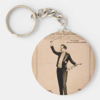 """Eduard Strauss, """"piano de Chickering utilizó"""" a Th Llaveros Personalizados"""