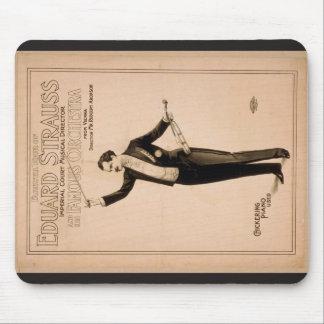 "Eduard Strauss, ""piano de Chickering utilizó"" a Th Alfombrilla De Raton"