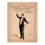"Eduard Strauss, ""piano de Chickering utilizó"" a Th Postal"