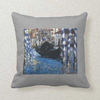 Eduardo Manet- el Gran Canal de Venecia Almohadas