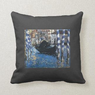 Eduardo Manet- el Gran Canal de Venecia Cojines