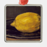 Eduardo Manet- el limón Adorno Navideño Cuadrado De Metal