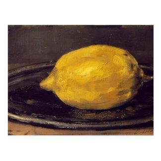 Eduardo Manet- el limón Postal