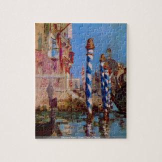 Eduardo Manet - Gran Canal en Venicepuzzle Puzzles Con Fotos