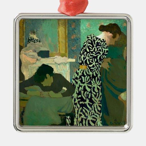 Eduardo Vuillard- el vestido florecido Adorno De Navidad