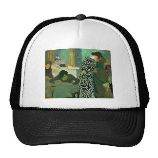 Eduardo Vuillard- el vestido florecido Gorros