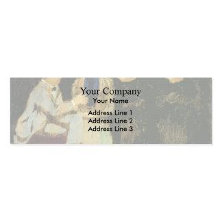 Eduardo Vuillard- la discusión Tarjetas De Visita Mini