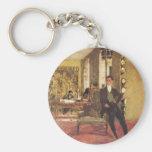 Eduardo Vuillard los marchantes 1908 Llavero Personalizado