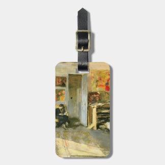 Eduardo Vuillard Señora Losse Hessel en estudio Etiquetas Maletas