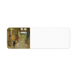 Eduardo Vuillard: Vestíbulo en el mer de Jacut del Etiqueta De Remite