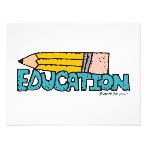 Educación Anuncio Personalizado