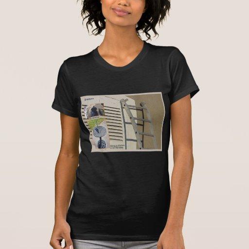 Educación, ciencia, sombras y tiempo camisetas