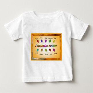 Educación, ciudadanía, bebidas alcohólicas tee shirt