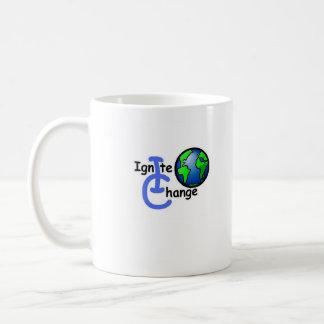Educación del pasaporte 2 taza de café