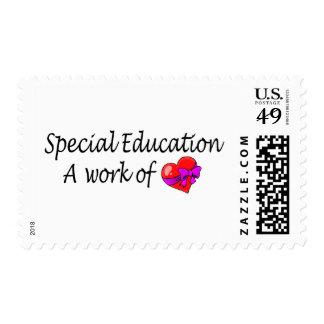 Educación especial un trabajo del amor sello