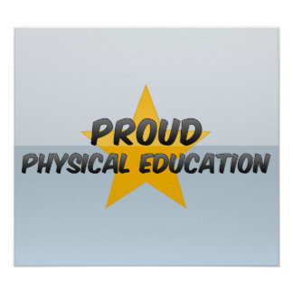 Educación física orgullosa posters