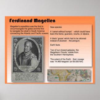 Educación, historia, Fernando de Magallanes Póster