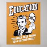 educación impresiones
