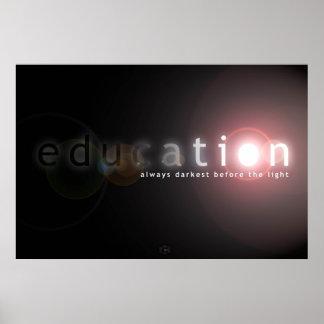 Educación Póster