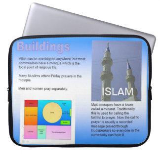 Educación, religión, Islam, edificios musulmanes Funda Para Ordenador
