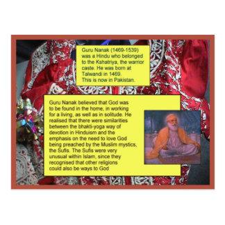 Educación, religión, Sikhism, Guru Nanak Tarjeta Postal