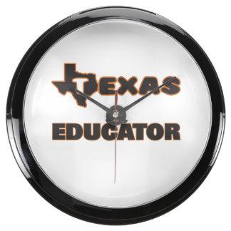 Educador de Tejas Reloj Aquavista
