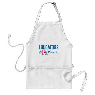 Educadores para Romney Delantal