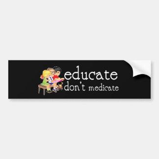 Educate Bumper Sticker