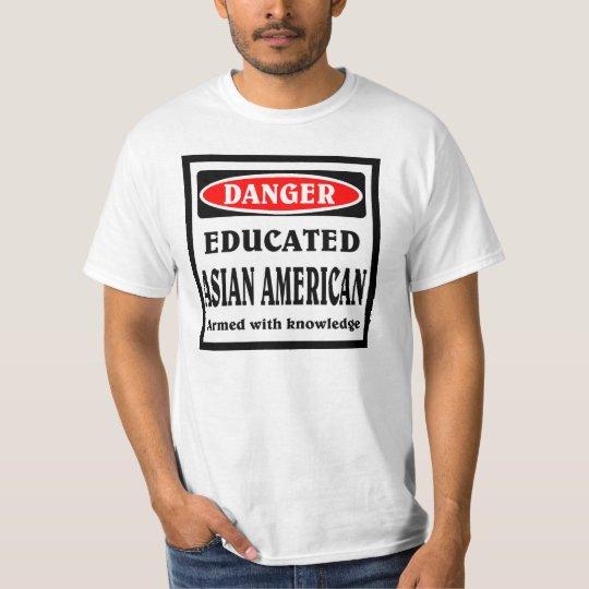 Educated Asian American T-Shirt